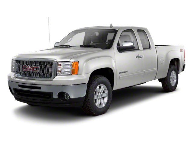 Quicksilver Metallic 2013 GMC Sierra 1500 Pictures Sierra 1500 Extended Cab SLE 4WD photos front view