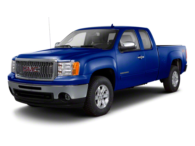 Heritage Blue Metallic 2013 GMC Sierra 1500 Pictures Sierra 1500 Extended Cab SLE 4WD photos front view