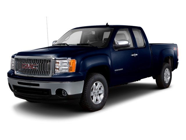 Deep Indigo Metallic 2013 GMC Sierra 1500 Pictures Sierra 1500 Extended Cab SLE 4WD photos front view