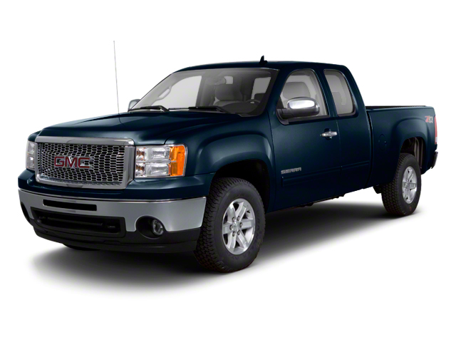 Graphite Blue Metallic 2013 GMC Sierra 1500 Pictures Sierra 1500 Extended Cab SLE 4WD photos front view