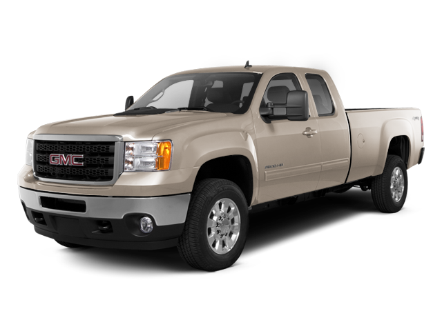 Steel Gray Metallic 2013 GMC Sierra 2500HD Pictures Sierra 2500HD Extended Cab SLE 4WD photos front view