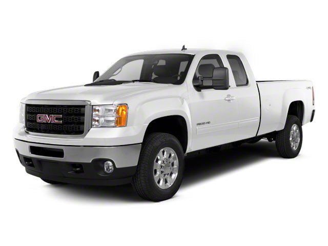Summit White 2013 GMC Sierra 2500HD Pictures Sierra 2500HD Extended Cab SLE 4WD photos front view