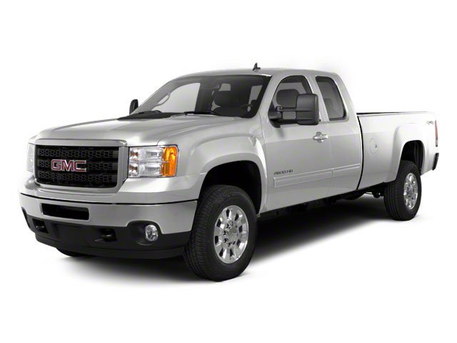 Quicksilver Metallic 2013 GMC Sierra 2500HD Pictures Sierra 2500HD Extended Cab SLE 4WD photos front view