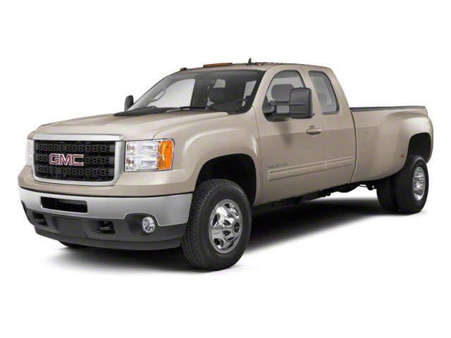 Steel Gray Metallic 2013 GMC Sierra 3500HD Pictures Sierra 3500HD Extended Cab SLT 2WD photos front view