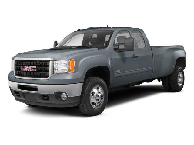 Stealth Gray Metallic 2013 GMC Sierra 3500HD Pictures Sierra 3500HD Extended Cab SLT 2WD photos front view