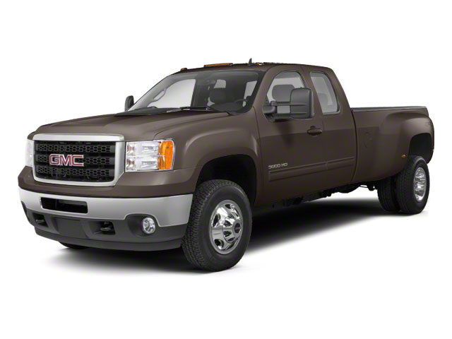 Mocha Steel Metallic 2013 GMC Sierra 3500HD Pictures Sierra 3500HD Extended Cab SLT 2WD photos front view