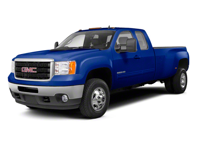 Heritage Blue Metallic 2013 GMC Sierra 3500HD Pictures Sierra 3500HD Extended Cab SLT 2WD photos front view