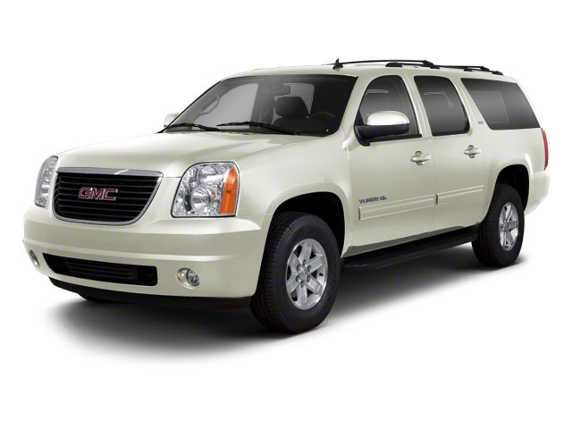 White Diamond Tricoat 2013 GMC Yukon XL Pictures Yukon XL Utility C1500 SLT 2WD photos front view