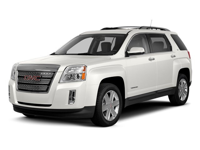 Summit White 2013 GMC Terrain Pictures Terrain Utility 4D SLT AWD photos front view
