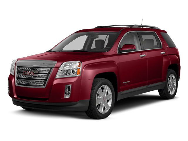 Crystal Red Tintcoat 2013 GMC Terrain Pictures Terrain Utility 4D SLE AWD photos front view