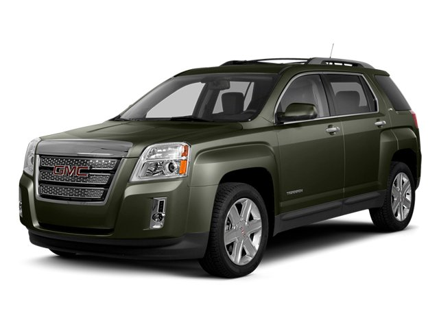 Gray Green Metallic 2013 GMC Terrain Pictures Terrain Utility 4D SLT AWD photos front view