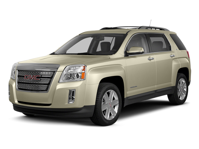 Champagne Silver Metallic 2013 GMC Terrain Pictures Terrain Utility 4D SLE AWD photos front view