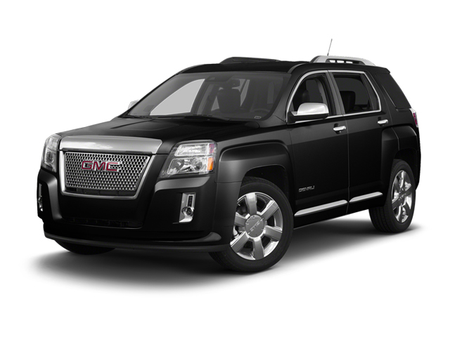 Carbon Black Metallic 2013 GMC Terrain Pictures Terrain Utility 4D Denali 2WD photos front view