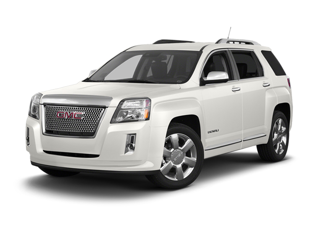 Summit White 2013 GMC Terrain Pictures Terrain Utility 4D Denali 2WD photos front view