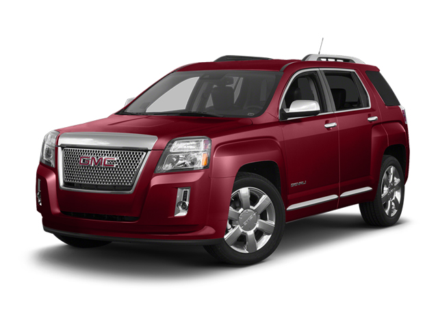 Crystal Red Tintcoat 2013 GMC Terrain Pictures Terrain Utility 4D Denali 2WD photos front view