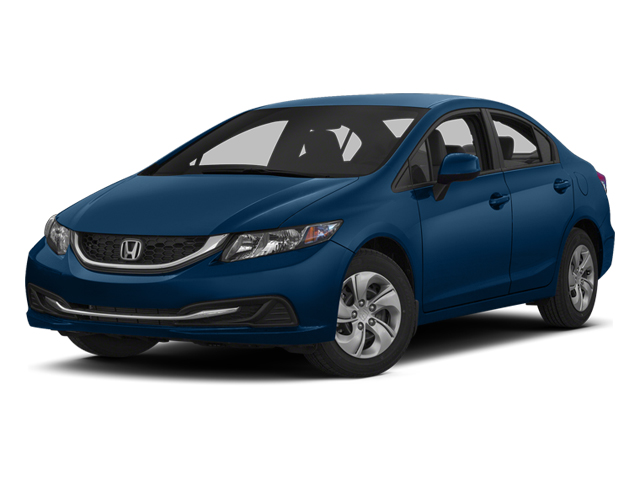 Dyno Blue Pearl 2013 Honda Civic Sdn Pictures Civic Sdn Sedan 4D LX I4 photos front view