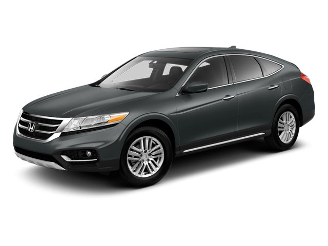 Polished Metal Metallic 2013 Honda Crosstour Pictures Crosstour Utility 4D EX-L 2WD I4 photos front view