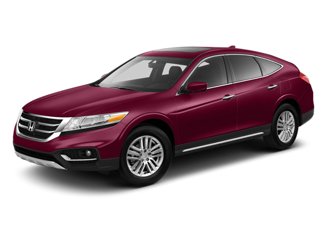 Basque Red Pearl II 2013 Honda Crosstour Pictures Crosstour Utility 4D EX-L 2WD I4 photos front view