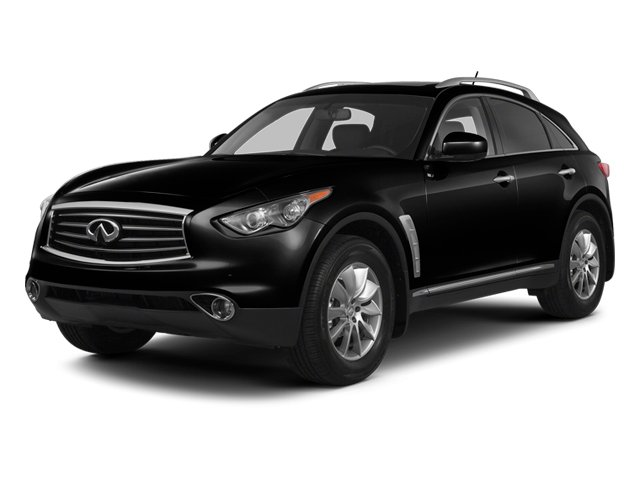Malbec Black 2013 INFINITI FX37 Pictures FX37 Utility 4D FX37 AWD V6 photos front view