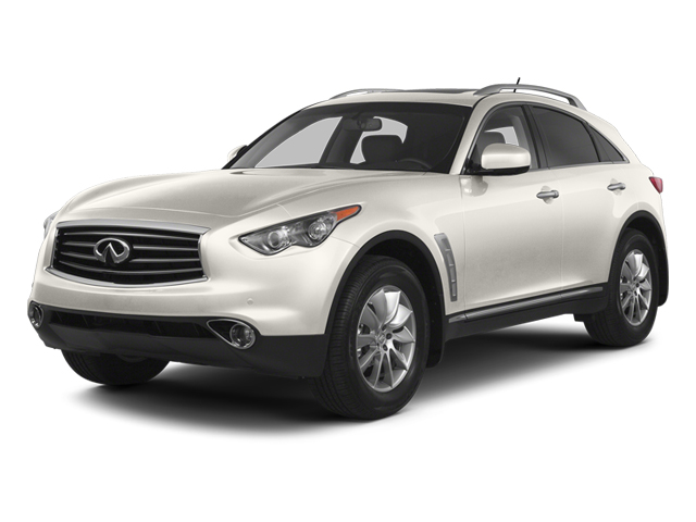 Moonlight White 2013 INFINITI FX50 Pictures FX50 Utility 4D FX50 AWD V8 photos front view