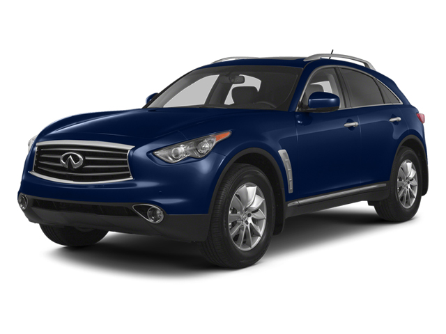 Iridium Blue 2013 INFINITI FX50 Pictures FX50 Utility 4D FX50 AWD V8 photos front view