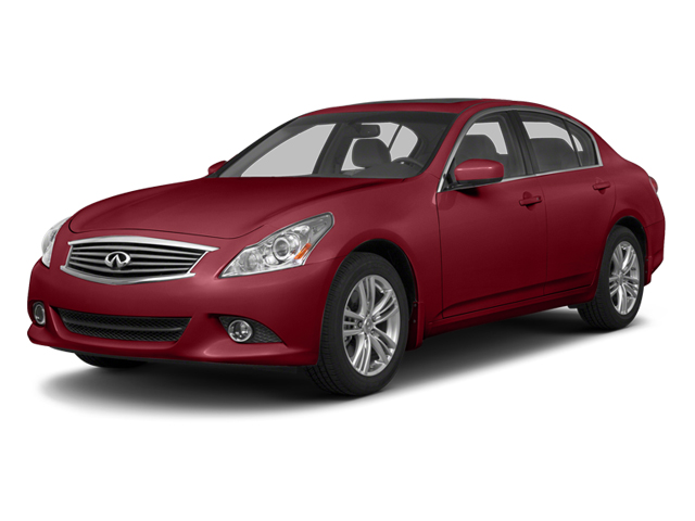 Vibrant Red 2013 INFINITI G37 Sedan Pictures G37 Sedan 4D V6 photos front view