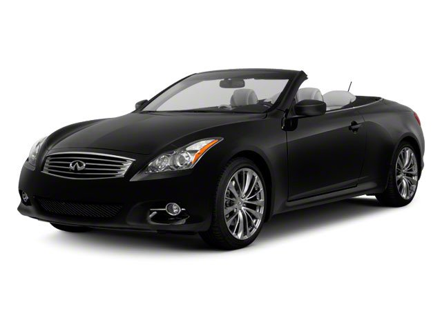 Black Obsidian 2013 INFINITI G37 Convertible Pictures G37 Convertible Convertible 2D 6 Spd V6 photos front view
