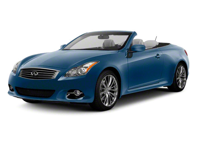 Lapis Blue 2013 INFINITI G37 Convertible Pictures G37 Convertible Convertible 2D V6 photos front view