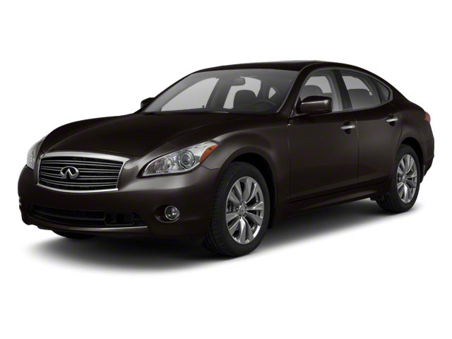 Malbec Black 2013 INFINITI M56 Pictures M56 Sedan 4D x AWD V8 photos front view