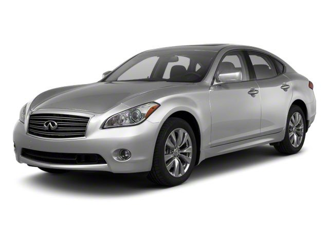 Liquid Platinum 2013 INFINITI M56 Pictures M56 Sedan 4D x AWD V8 photos front view