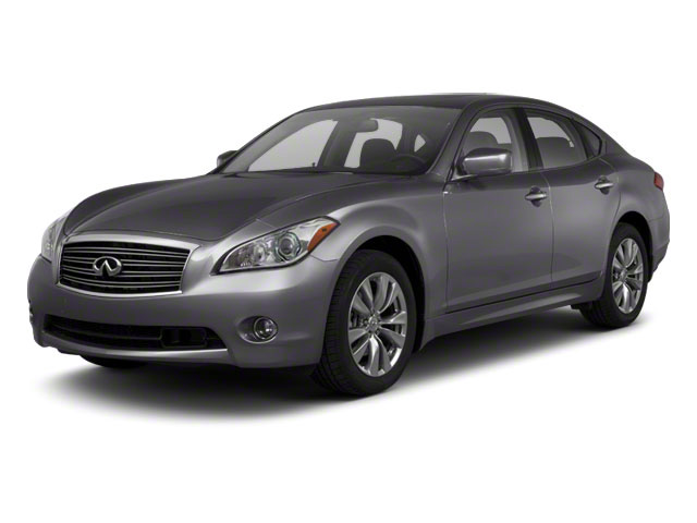 Platinum Graphite 2013 INFINITI M56 Pictures M56 Sedan 4D x AWD V8 photos front view