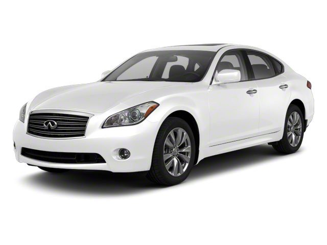 Moonlight White 2013 INFINITI M56 Pictures M56 Sedan 4D x AWD V8 photos front view