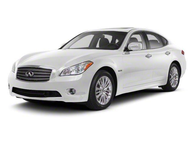 Moonlight White 2013 INFINITI M35h Pictures M35h Sedan 4D V6 Hybrid photos front view