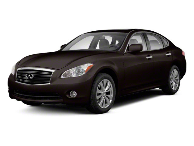 Malbec Black 2013 INFINITI M37 Pictures M37 Sedan 4D x AWD V6 photos front view