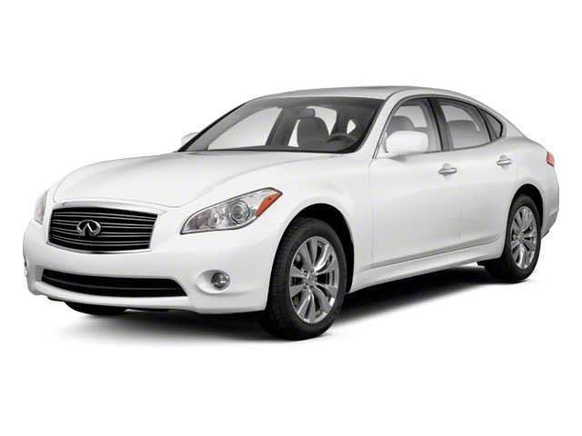 Moonlight White 2013 INFINITI M37 Pictures M37 Sedan 4D V6 photos front view