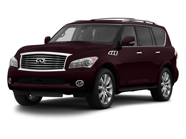 Dark Currant 2013 INFINITI QX56 Pictures QX56 Utility 4D 4WD photos front view