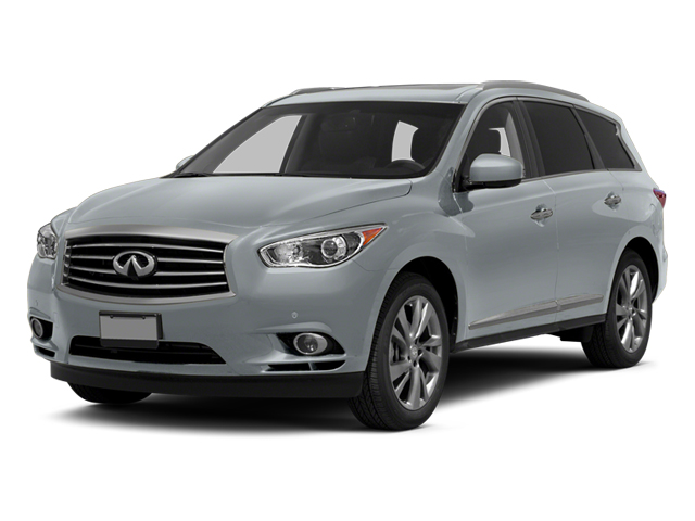 Glacial Silver 2013 INFINITI JX35 Pictures JX35 Utility 4D 2WD photos front view