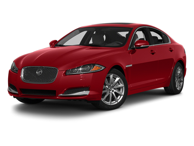 Italian Racing Red 2013 Jaguar XF Pictures XF Sedan 4D Portfolio AWD V6 Supercharg photos front view
