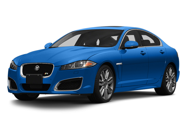 French Racing Blue 2013 Jaguar XF Pictures XF Sedan 4D XFR-S V8 Supercharged photos front view