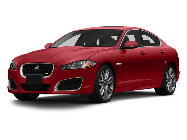 Italian Racing Red 2013 Jaguar XF Pictures XF Sedan 4D XFR V8 Supercharged photos front view