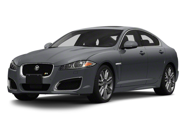 Lunar Grey Metallic 2013 Jaguar XF Pictures XF Sedan 4D XFR V8 Supercharged photos front view