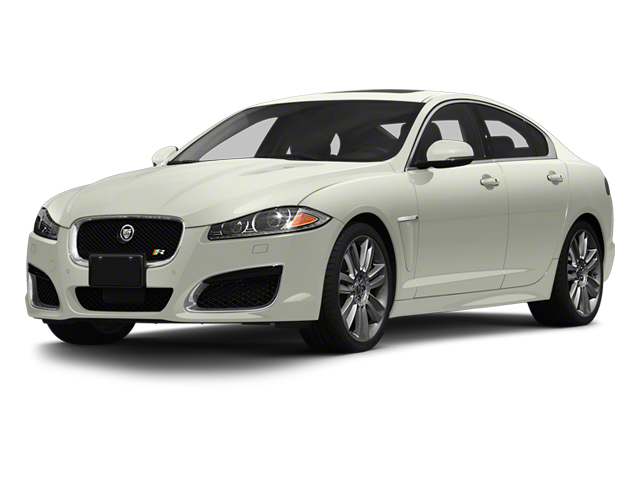 Polaris White 2013 Jaguar XF Pictures XF Sedan 4D XFR V8 Supercharged photos front view