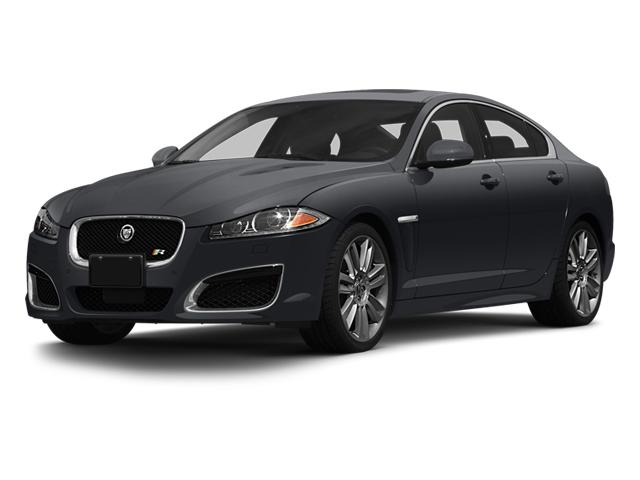 Stratus Grey Metallic 2013 Jaguar XF Pictures XF Sedan 4D XFR V8 Supercharged photos front view