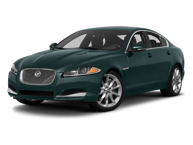 British Racing Green 2013 Jaguar XF Pictures XF Sedan 4D V8 Supercharged photos front view