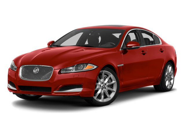 Italian Racing Red 2013 Jaguar XF Pictures XF Sedan 4D V8 Supercharged photos front view