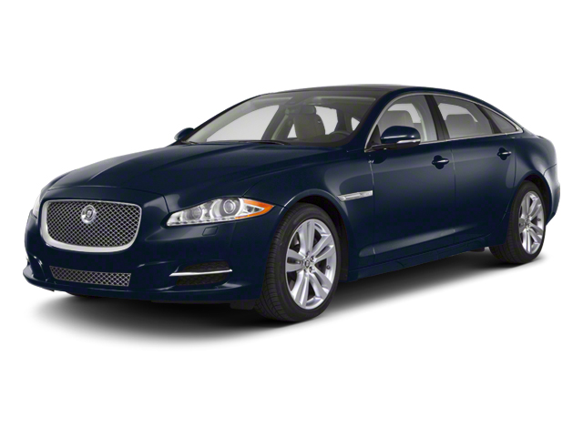 Indigo Blue 2013 Jaguar XJ Pictures XJ Sedan 4D AWD V6 photos front view