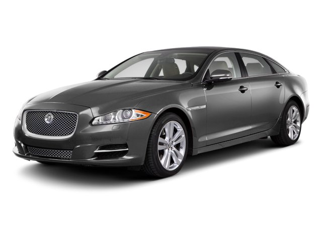 Stratus Grey 2013 Jaguar XJ Pictures XJ Sedan 4D AWD V6 photos front view