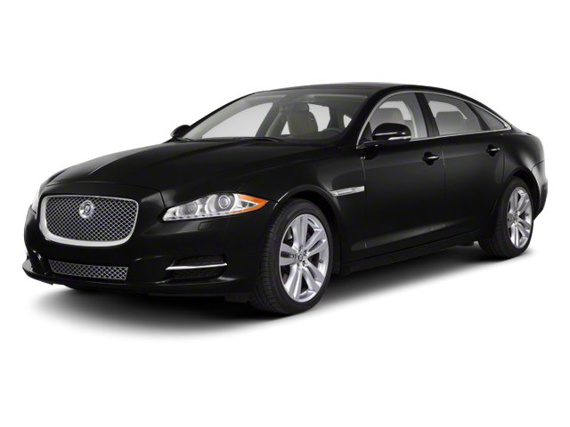Ultimate Black 2013 Jaguar XJ Pictures XJ Sedan 4D AWD V6 photos front view
