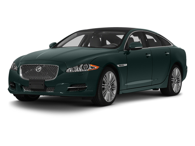 British Racing Green 2013 Jaguar XJ Pictures XJ Sedan 4D Speed V8 Supercharged photos front view