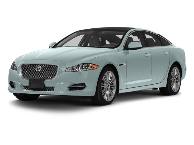 Crystal Blue 2013 Jaguar XJ Pictures XJ Sedan 4D Speed V8 Supercharged photos front view